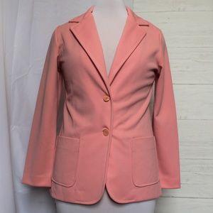 70s Vintage Pink Blazer